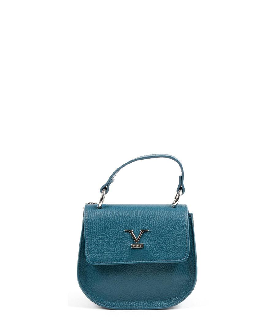 e7e4a78be6b5 Turquoise leather textured cross body Sale - versace 1969 abbigliamento  sportivo ...