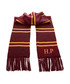 Maroon personalised Gryffindor scarf Sale - Harry Potter Inspired Sale