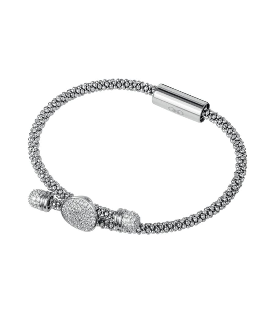 Star Dust sterling & crystal bracelet Sale - links of london