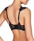Black striped mesh push up bra Sale - Pleasure State - Couture Sale