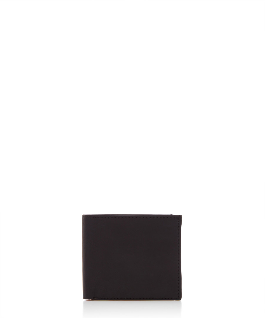 Black & red leather wallet  Sale - woodland leathers