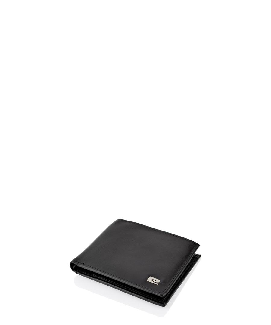Black leather logo wallet Sale - pierre cardin