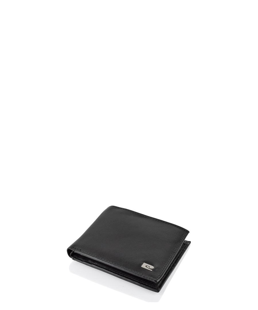 Black leather wallet Sale - pierre cardin