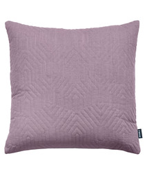 Contour damson linen blend cushion