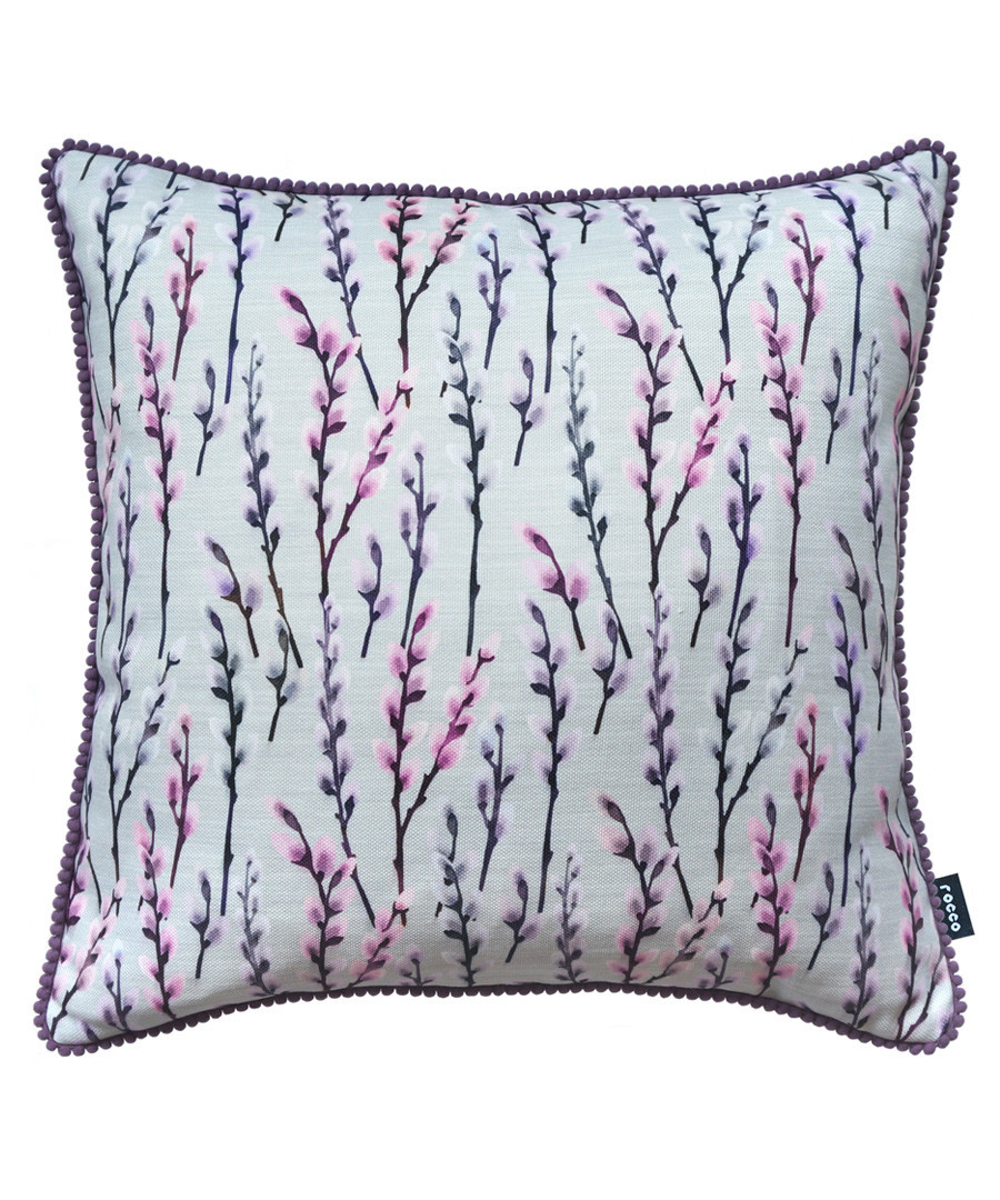 Prairie purple printed cushion Sale - ROCCO