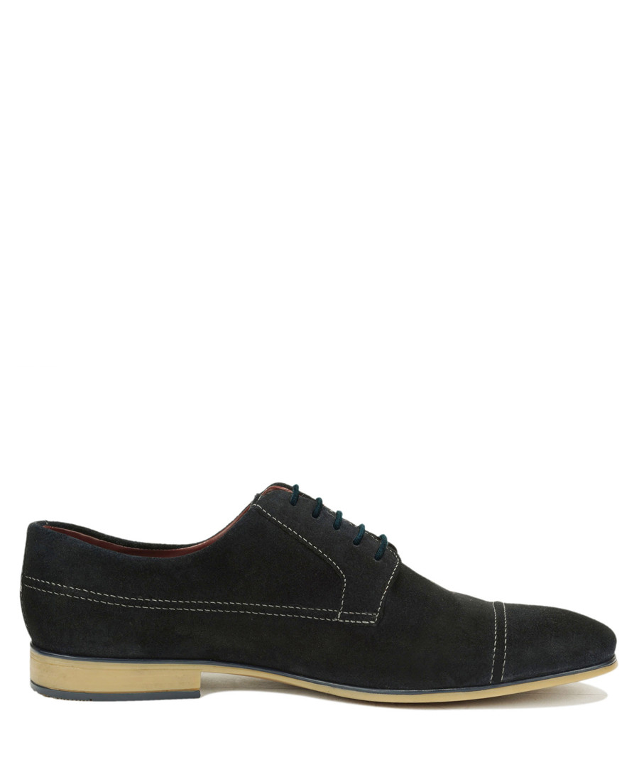 Sam marine suede Derby shoes Sale - Teddy Clark