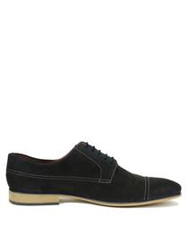 Sam marine suede Derby shoes