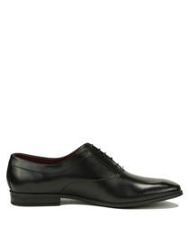 Gabriel black leather Derby shoes
