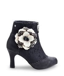 Cristobel Couture black & white boots