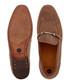 Navarre taupe suede horsebit loafers Sale - hudson Sale
