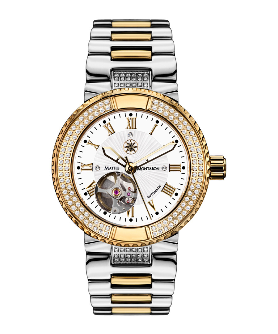 Reveause two-tone stainless steel watch Sale - mathis montabon
