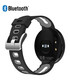 Black & grey leather smart watch Sale - Inki Sale