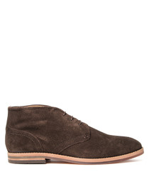 Houghton brown suede desert boots