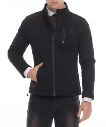 Black zip up jacket