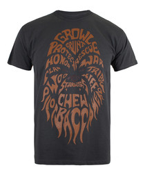 Chewbacca grey & orange cotton  T-shirt