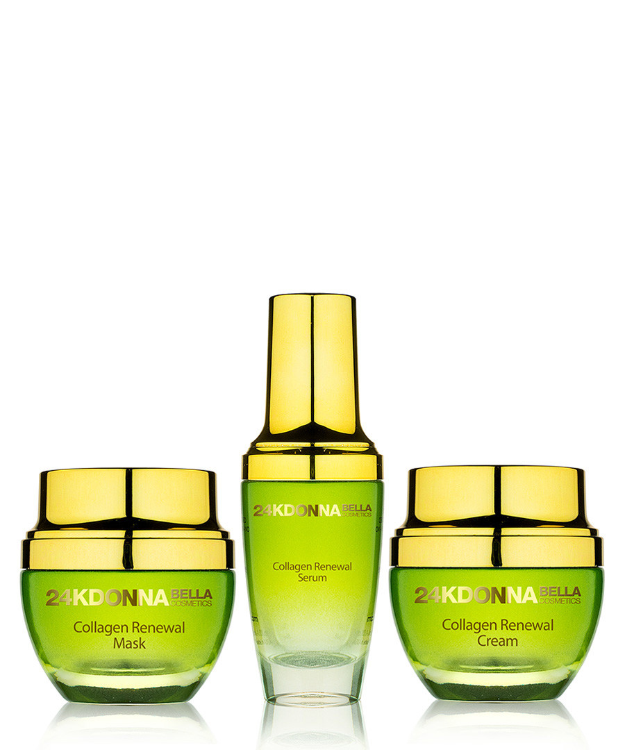 3pc 24K Collagen renewal set Sale - donna bella 24k