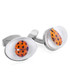 Rhodium-plated ladybird cufflinks Sale - Tateossian London Sale
