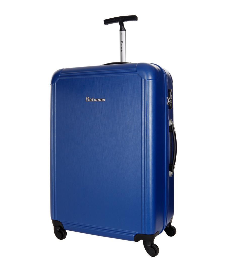 Blue spinner suitcase 50cm Sale - platinium