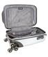 Silver-tone upright suitcase 45cm Sale - cabine size Sale