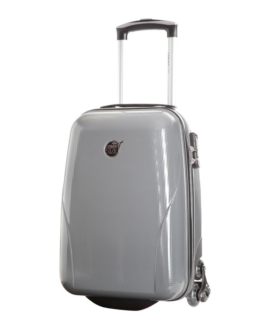 Grey upright suitcase 45cm Sale - cabine size