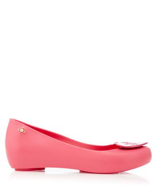 db6a99946ff MELISSA X VIVIENNE WESTWOOD. VW Ultragirl pink ballet flats