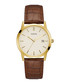 Camden brown & gold-tone leather watch Sale - guess Sale