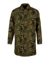 Mouse multi-coloured camouflage jacket