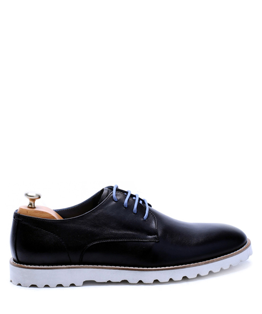 Black leather lace-up shoes Sale - s baker