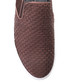Brown leather textured slip on shoes Sale - s baker Sale