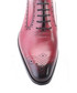 Bordeaux leather Derby shoes Sale - s baker Sale