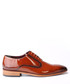 Tan patent leather Derby shoes Sale - s baker Sale