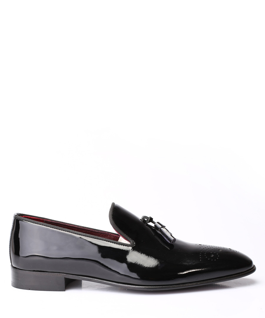 Black patent leather loafers Sale - s baker