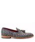 Pattern leather tassel loafers Sale - s baker Sale
