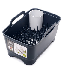 Dark grey wash & drain bowl