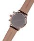 Argos rose gold-tone leather watch Sale - chrono diamond Sale