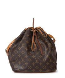 Noé brown monogram canvas shoulder bag