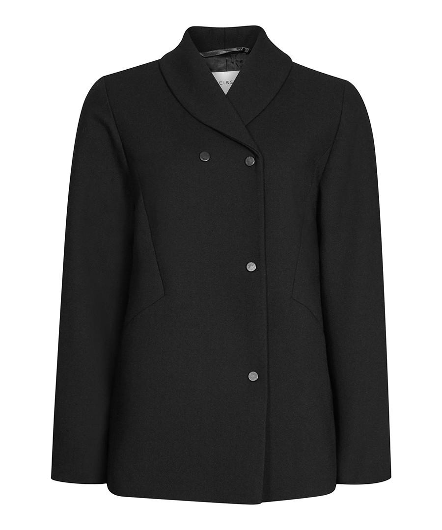 Women's Ashby black wool blend jacket  Sale - Reiss