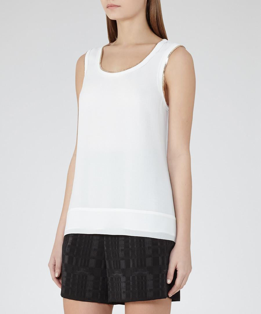 Women's Inny white chain detail top Sale - Reiss