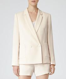 Women's Ada apricot notched jacket