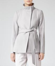 Women's Hermitage frost wool blend coat