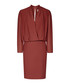 Women's dark red long sleeve dress Sale - Reiss Sale