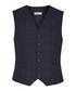 Stryker navy wool blend waistcoat Sale - Reiss Sale