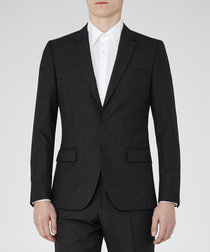 Farrow charcoal wool blazer