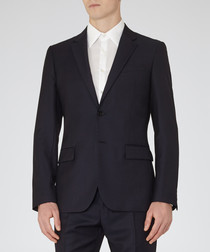 Harry navy pure wool blazer