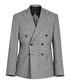 Luxor grey pure linen blazer Sale - Reiss Sale