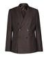 Lamella brown wool & linen blend blazer Sale - Reiss Sale