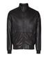 Men's Blaze black leather jacket Sale - Reiss Sale