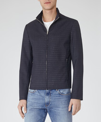 Moonlight navy Harrington short jacket