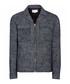 Men's Hartnett navy pure cotton jacket  Sale - Reiss Sale
