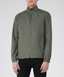 Men's Douzon khaki cotton parka jacket